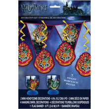 Load image into Gallery viewer, Harry Potter Party Decorating Kit - 7 Pieces