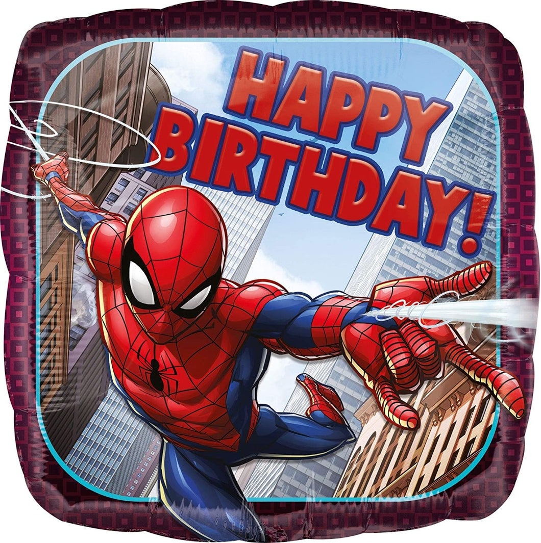 Spider-Man Happy Birthday Foil Balloon