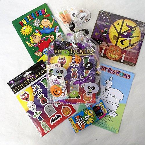 Halloween Pre Filled Party Bags, Goody Bags Favours (No Sweets)