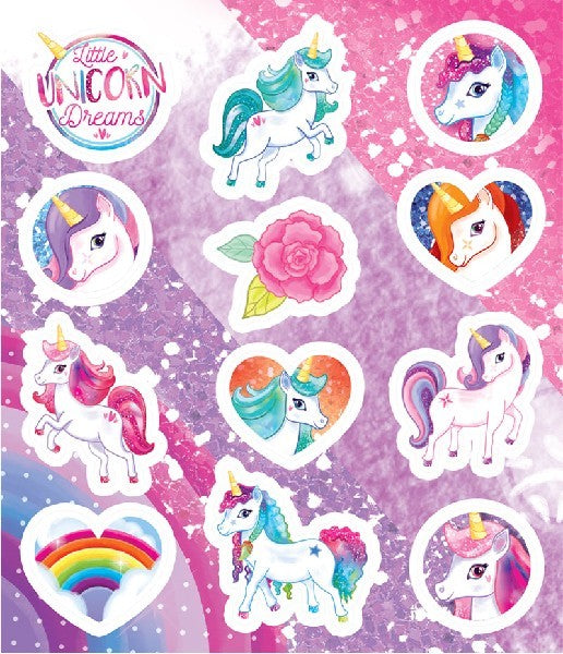 Unicorn Sticker Sheet