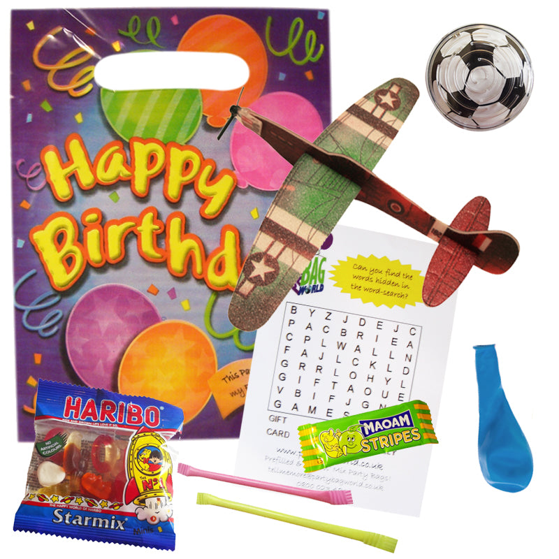Pre-packed Happy Birthday Party Bag