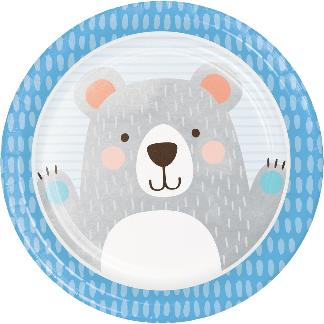 Birthday Bear Plates