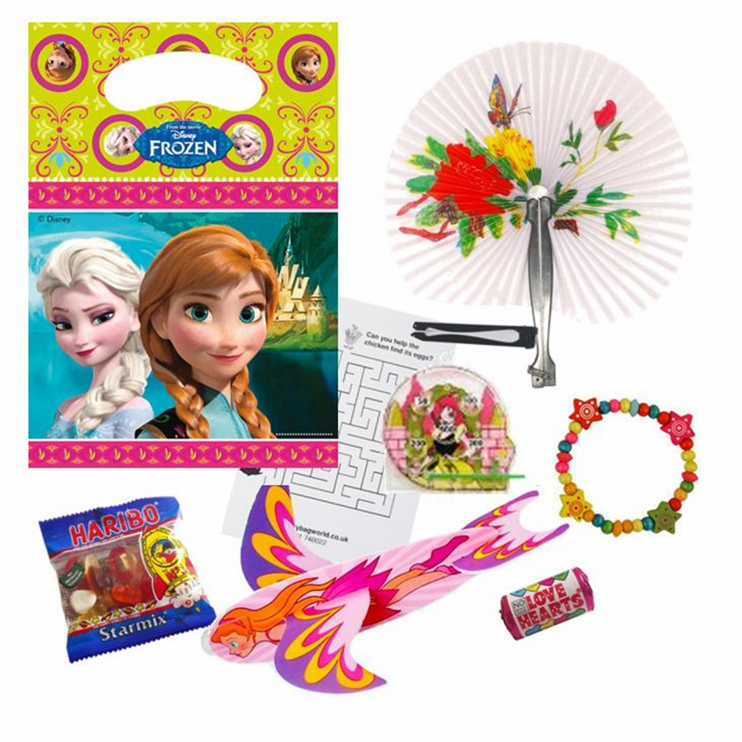 Girls Frozen Pre Filled Party Bag