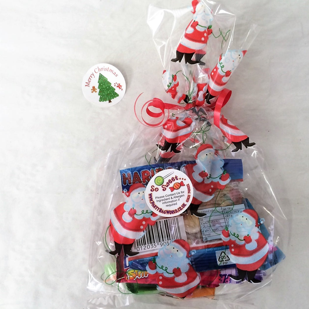 Pre Filled Christmas Sweet Bags