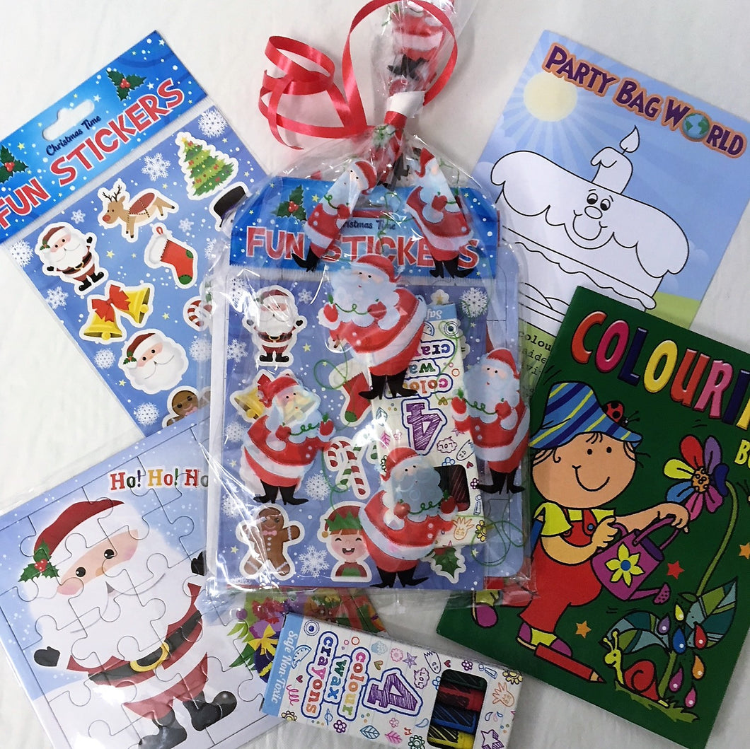 Christmas Pre Filled Party Bag