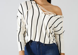 Strike Me Out Blouse