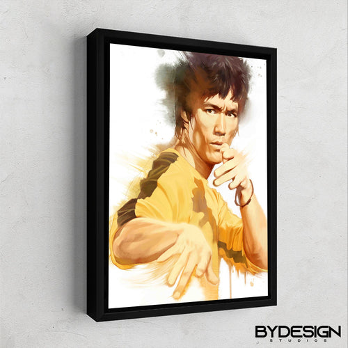Bruce Lee Gallery Canvas Wall Art - By Design Studios