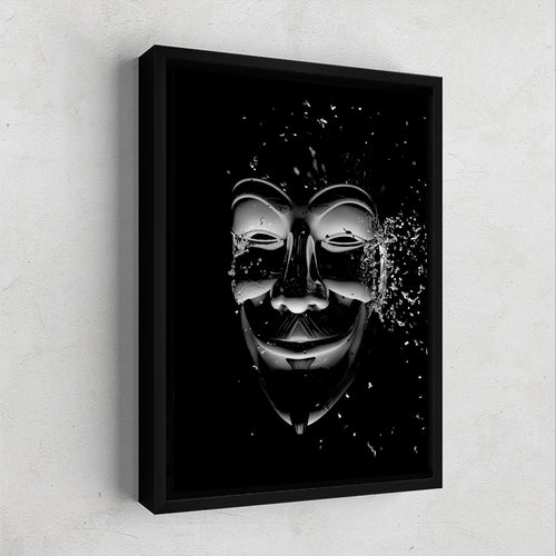 Guy Fawkes Gallery Canvas Wall Art - By Design Studios