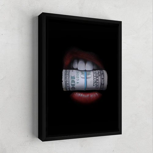 Money Hungry Gallery Canvas Wall Art - By Design Studios