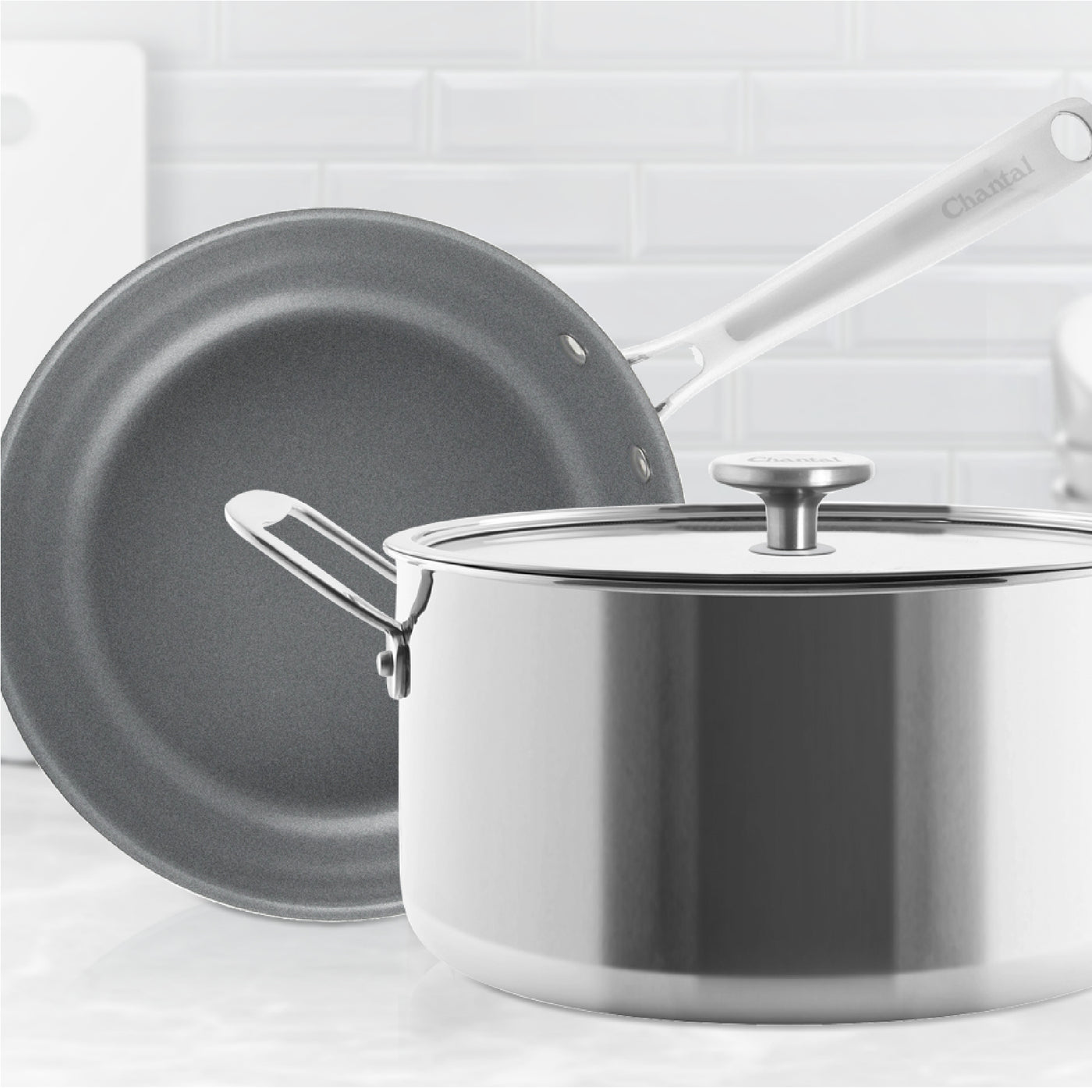 3.clad stainless steel cookware collection