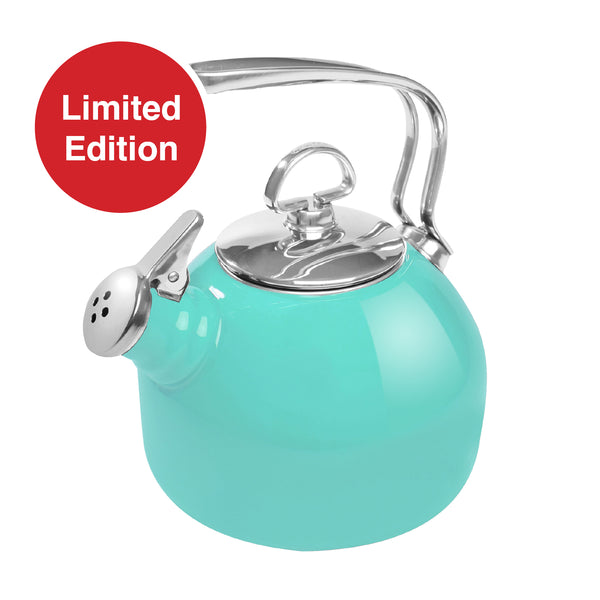limited edition classic teakettle in aqua