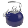 Enamel-on-Steel Classic Teakettle 1.8 Quarts in blue