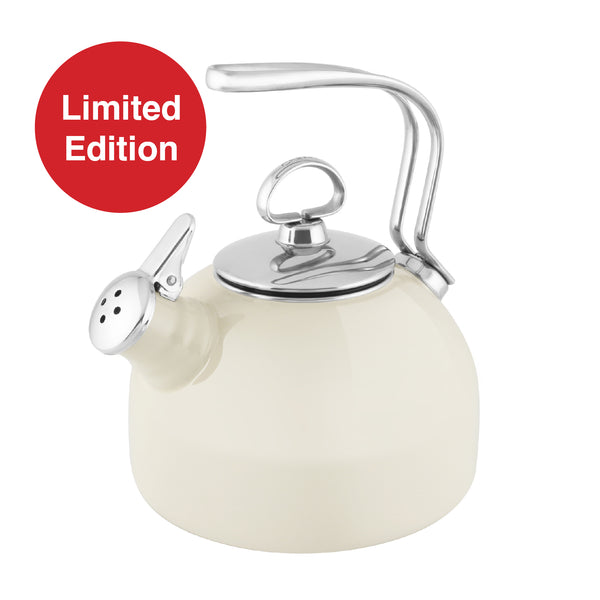 Limited Edition Classic Teakettle Almond 1.8 Quarts in almond