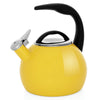 Enamel-on-Steel Anniversary Teakettle Collection 2 Quart in yellow