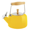 Enamel-on-Steel Sven Teakettle 1.4 Quarts in yellow