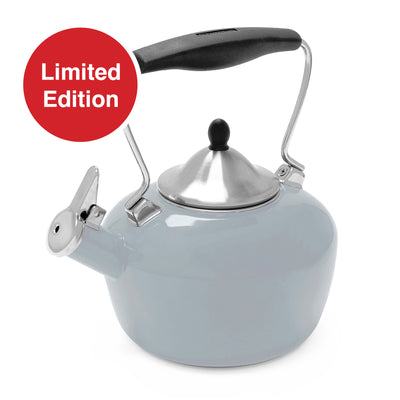 enamel on steel catherine kettle fade gray color