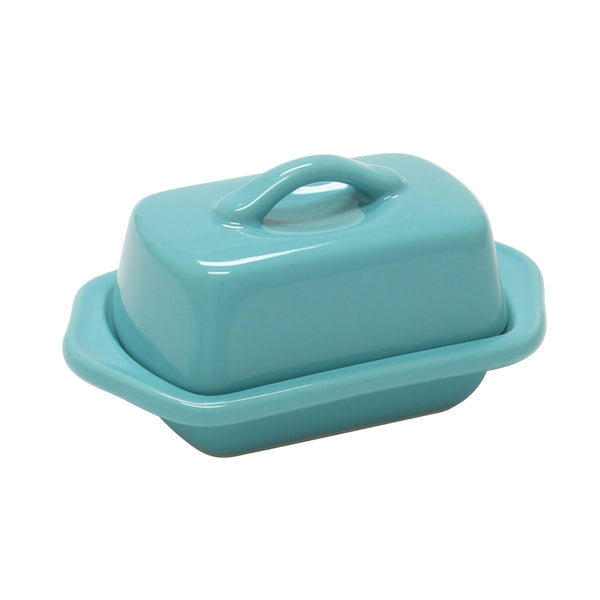 Mini Butter Dish Aqua