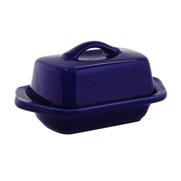 Mini Butter Dish in blue