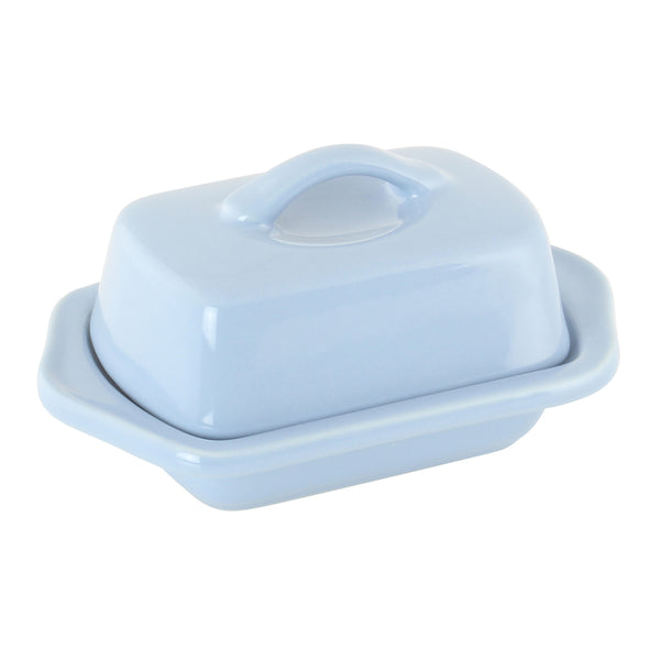 Mini Butter Dish in light blue