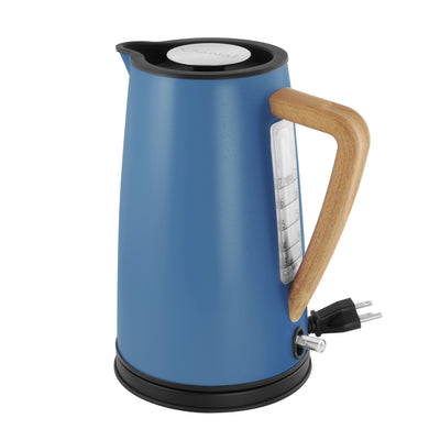 oslo electric water kettle collection blue cove color