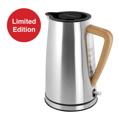 brushed stainless oslo electric water kettle