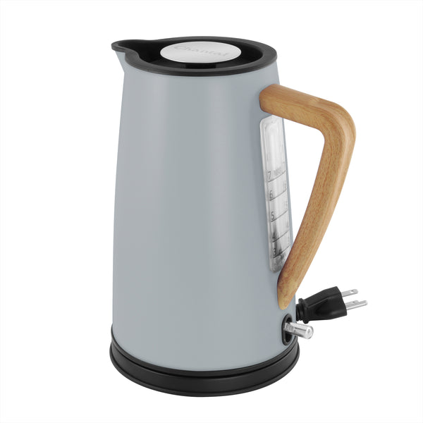 oslo electric water kettle collection grey color