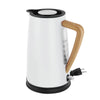 oslo electric water kettle collection white color