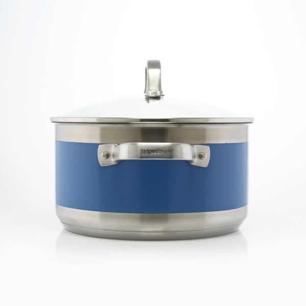 Stripes Stockpot (6 Qt.)