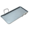 Induction 21 Steel Heavy-Gauge Tri-ply Griddle with Nonstick Coating (19 In. x 9.5 In.)