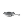 3.clad fry pan tri-ply ceramic coated polished 8 inch