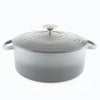 cast iron dutch oven 5 quart in fade grey