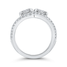 Load image into Gallery viewer, 14K White Gold Round Diamond Fashion Ring