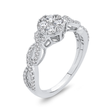 Load image into Gallery viewer, 10K White Gold 3/4 Ct Diamond Fashion Ring