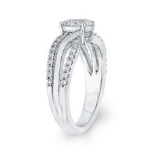 Load image into Gallery viewer, 10K White Gold 5/8 Ct Diamond Fashion Ring