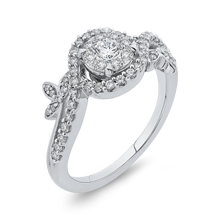 Load image into Gallery viewer, 10K White Gold 1/2 Ct Diamond Fashion Ring