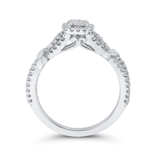 Load image into Gallery viewer, 10K White Gold 1/2 ct White Diamond Fashion Ring
