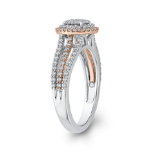 Load image into Gallery viewer, 10K Two Tone Gold 3/4 ct Round Diamond Fashion Ring