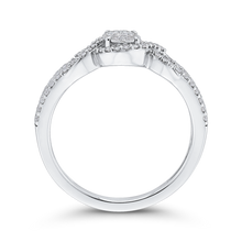Load image into Gallery viewer, 1/3 ct White Diamond Fashion Ring In 10K White Gold