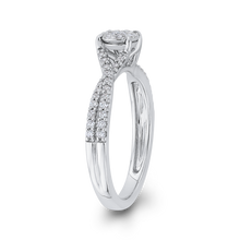 Load image into Gallery viewer, 10K White Gold 3/8 ct Round White Diamond Fashion Ring