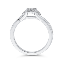 Load image into Gallery viewer, 10K White Gold 1/3 ct Round Diamond Fashion Ring