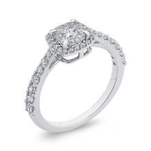Load image into Gallery viewer, 10K White Gold 5/8 ct White Diamond Fashion Ring