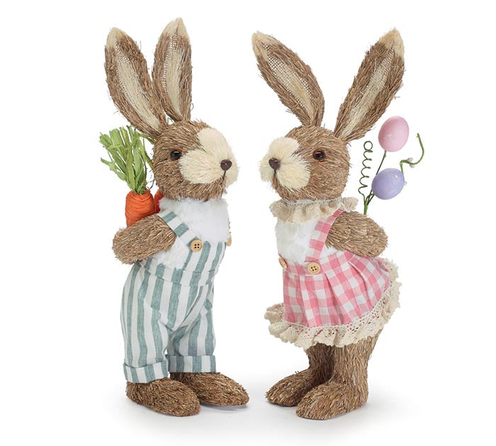 Sisal Bunny Love Couple