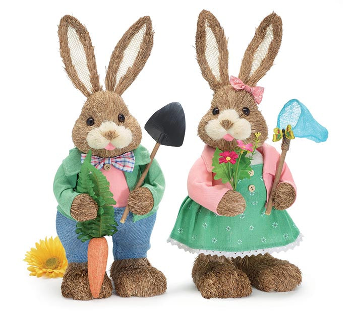 Spring Bunny Couple