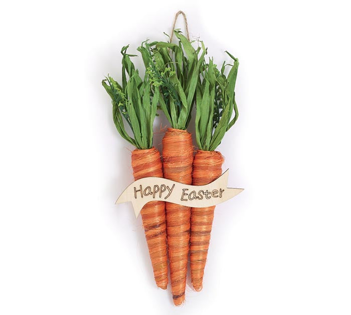 Happy Easter Carrot Hanger