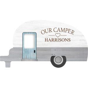 Camper Sign Engraveable