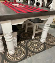 Load image into Gallery viewer, 6 Foot Dining Table with Grey Top