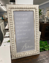Load image into Gallery viewer, God Is Great Wood Beaded Sign