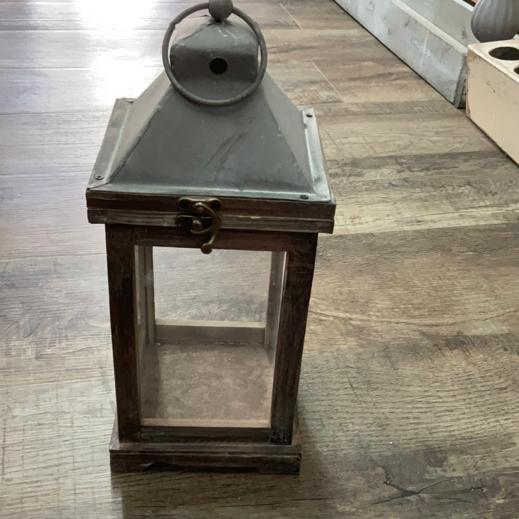 12x6 Gray Brown Small Lantern