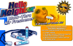 Hello Neighbor Blow-Thru Air Freshner