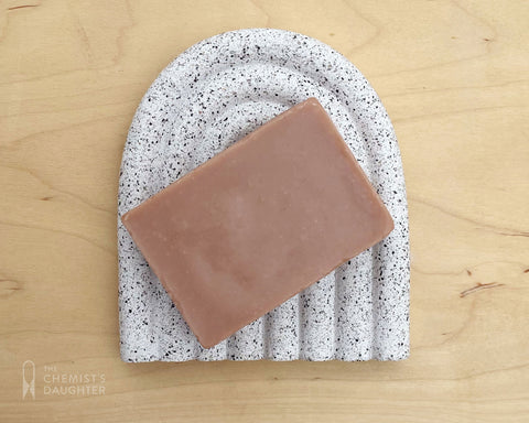 Arc Soap Dish - Speckle Large